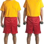 Boy Scout Image -- Fitness Yellow