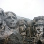 Boy Scout Image -- Mount Rushmore
