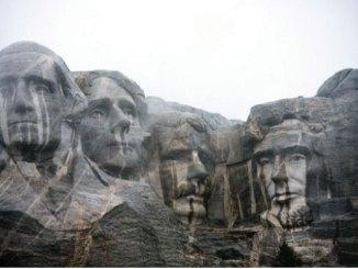 Boy Scout Image -- Mount Rushmore
