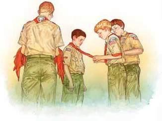 Boy Scout Image - New Scout Patrol