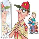 Boy Scout Image -- Over involved Leaders