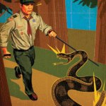 Boy Scout Image -- Rattle Snakes