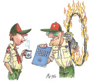 Boy Scout Image -- Training Leaders
