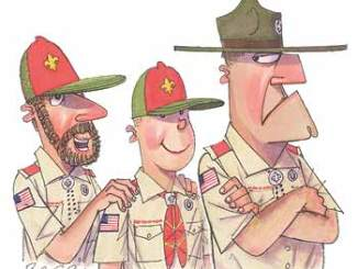 Boy Scout Image -- Venture Scouting