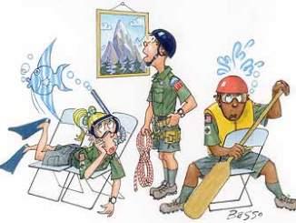 Boy Scout Image -- Venture Scouts