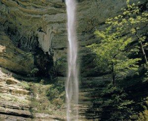 Boy Scout Image -- Waterfall