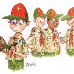 Boy Scout Image -- Webelos Fitting In
