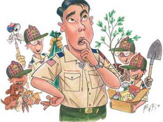 Boy Scout Image -- Webelos Service projects