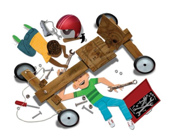 Cubmobile Car Race