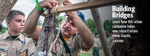 Retaining Scouts in Philadelphia with an urban camporee
