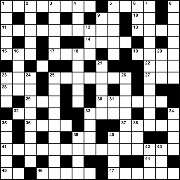 Crossword - Order of the Arrow