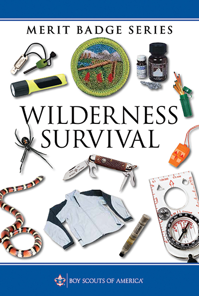 Tips for teaching the Wilderness Survival merit badge