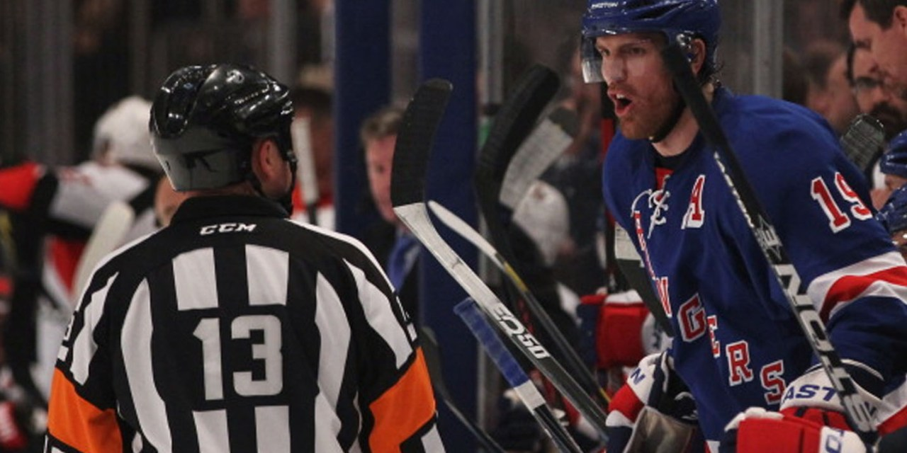 Tonight's NHL Playoff Referees – Rangers/Canadiens Game 6