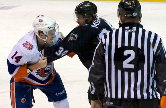 AHL Looks to Decrease Fighting with Rule Changes for 2016-17