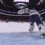 Lightning Goalie Ben Bishop's Illegal Puck Throw