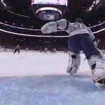 Lightning Goalie Ben Bishop's Illegal Puck Throw