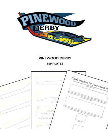 Pinewood Derby Cars - (TEMPLATES AND DESIGNS)