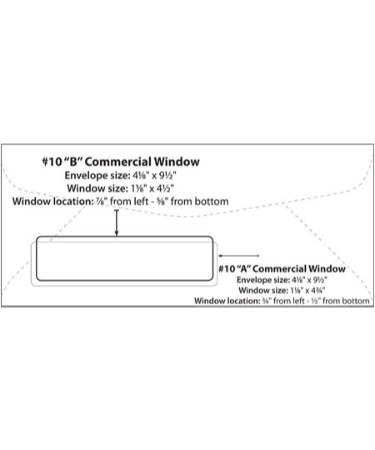 10 Window Envelope Template PDF - Free Download (PRINTABLE)