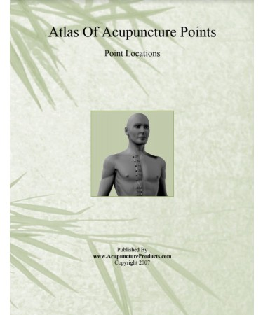 Acupuncture Points Chart PDF - Free Download (PRINTABLE)
