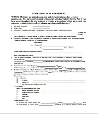 Beat Lease Contract Template PDF - Free Download (PRINTABLE)