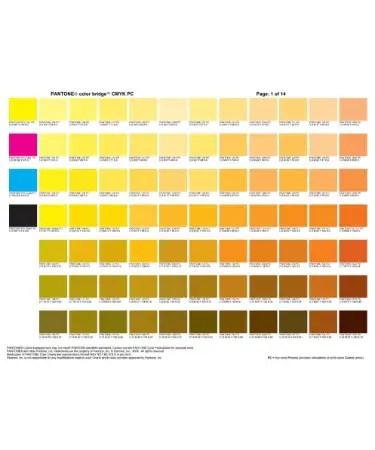 CMYK Color Chart PDF - Free Download (PRINTABLE)