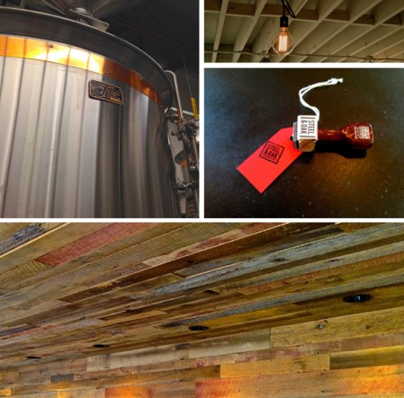 "DRINKER | New Craft Brewery ""Steel & Oak"" Now Open (And There Was Much Rejoicing)"