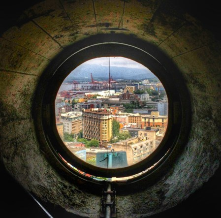 THE VIEW FROM YOUR WINDOW #163 | The View East From The Dome Of The Sun Tower