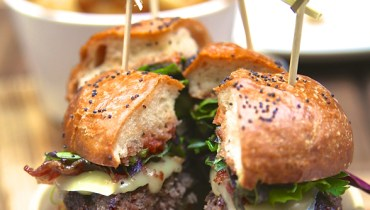 AWESOME THING WE ATE #920 | The Big Rangeland Game Burger At Robson's Forage