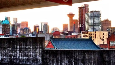 1,000 COOL THINGS ABOUT VANCOUVER | Beautiful Views From A Parkade In Chinatown
