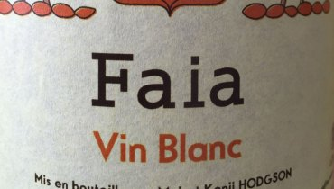 AWESOME THING WE DRANK #704 | Faia Vin Blanc 2014 From Loire's Mai & Kenji Hodgson