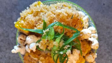AWESOME THING WE ATE #988 | Torafuku's Hickory Smoked & Miso-Buttered Corn Pucks