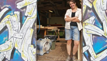 BIG INTERVIEW   51 Questions & A Beer With Woodworker/Furniture Designer Kate Duncan