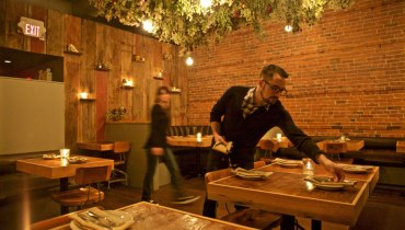 DINER | 'Wild Bunch' Floral Installation The Highlight Of New Renovations At 'Wildebeest'