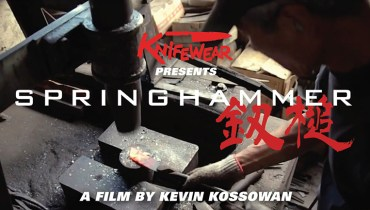 GOODS | Critically Acclaimed Japanese Knife-Making Doc 'Springhammer' Streaming Online
