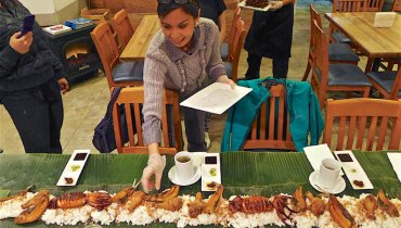 NEVER HEARD OF IT | Cleaning Up A Filipino 'Boodle Fight' Out At Surrey's Grandt Kitchen