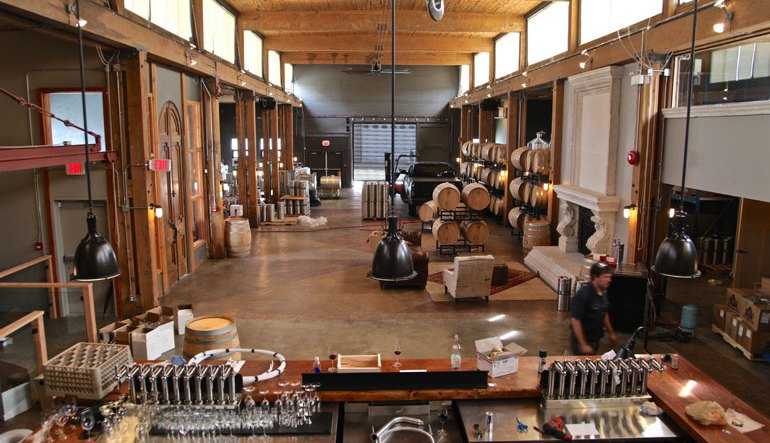 #TBT   A Look Inside Vancouver Urban Winery Before Its Launch — Five Years Ago This Week