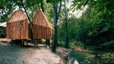SPACED | Imagining This Awesome Treehouse Near Beijing As A Secret North Shore Hideout