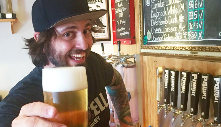 DRINKER | Five Minutes With David Bowkett, Powell Brewery's Co-Founder & Brewmaster