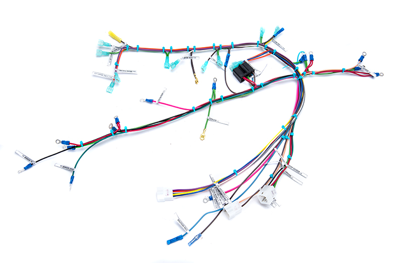 Scout II Dash Panel Wiring Harness For Stainless Steel Dash Panel