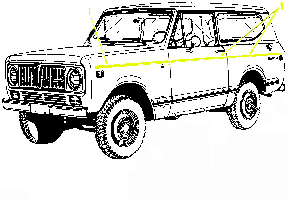 1977 scout wiring diagram