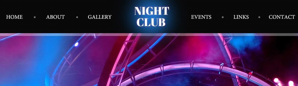Night Club - Type website-templates - Template # 40767 - Espresso