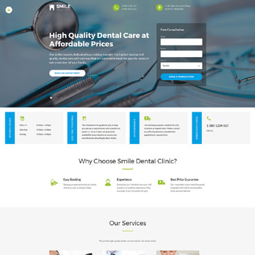 Hospital Website Templates, Medical Web Site Templates and Physician