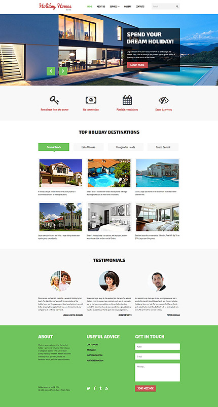 Real Estate - Type website-templates - Template # 58447 - Espresso