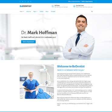 Hospital Website Templates, Medical Web Site Templates and