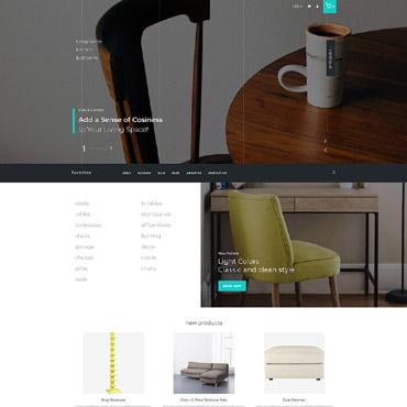 Interior Design Website Templates, and Furniture Store Web Templates - interior design web template