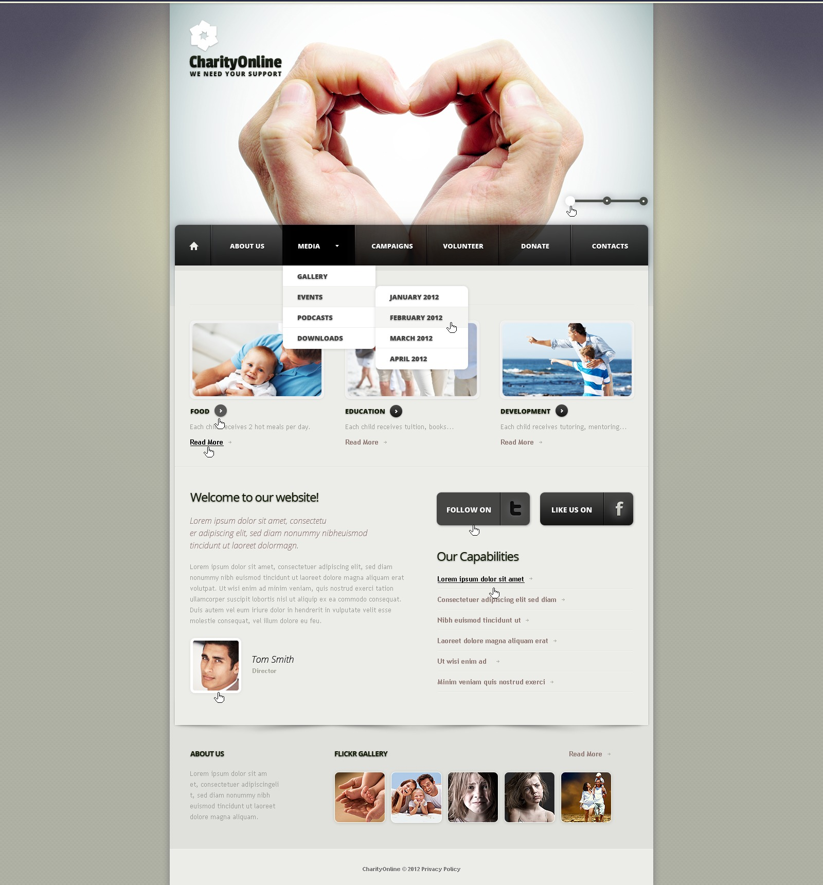 After Effects Templates Free Download Zip Charity Joomla Template 39008