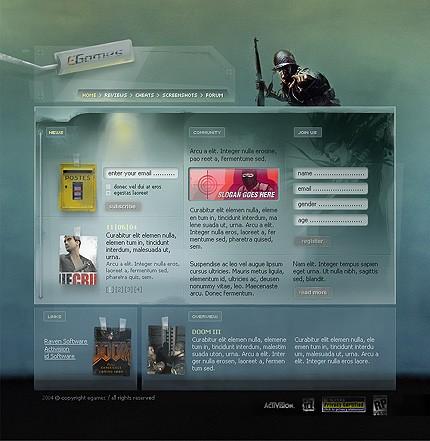 Website template 5931 (TM #5931) - Website Templates - special price $58