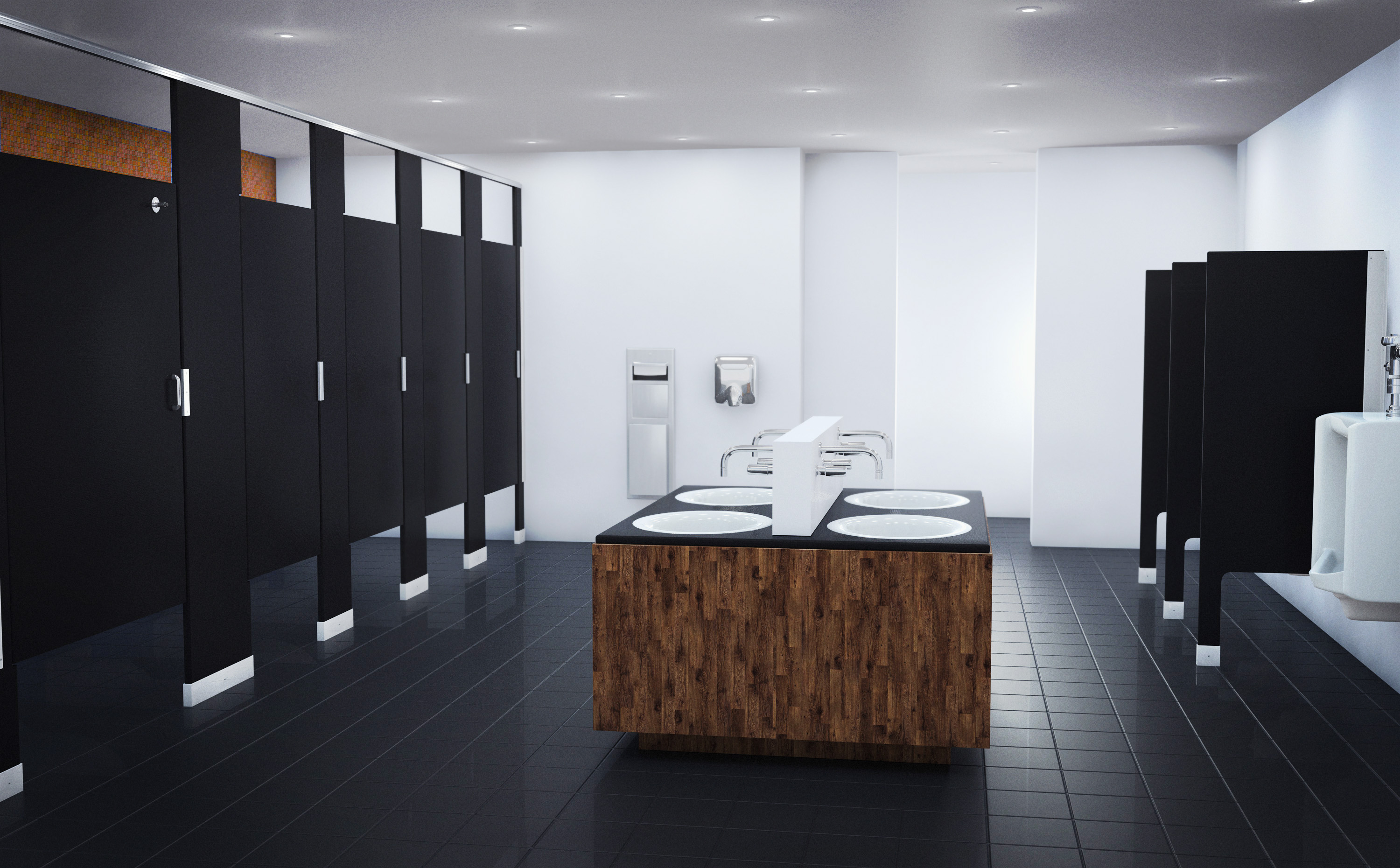Design Toilette New Trends In Commercial Restroom Design