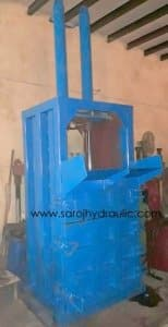 HYDRAULIC PET BOTTLE BALING PRESS