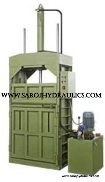 bottle baling press